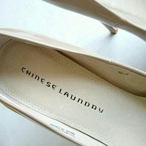 Chinese Laundry Shoes - Chinese Laundry Hotness Nude Platform Heel Shoes